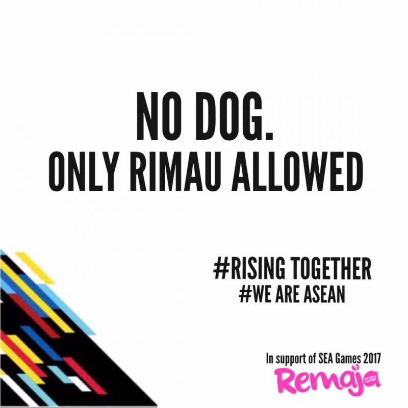'No Dog. Only Rimau Allowed': Chant 'Anjing', Pamer Sikap Tak Sensitif Rakyat Malaysia?