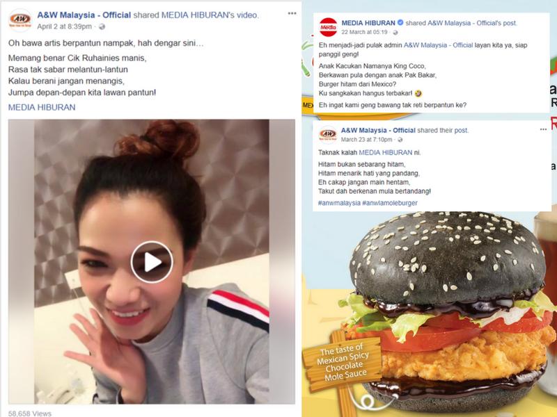 Gara-Gara Burger Sos Coklat, 'Geng Bawang' Perang Pantun Dengan A&W!