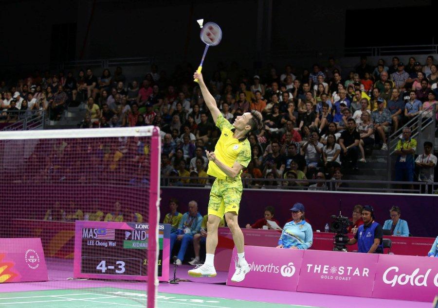 """""""Terima Kasih LCW."""" Pemain Badminton Menangi Emas Komanwel Terakhirnya"""