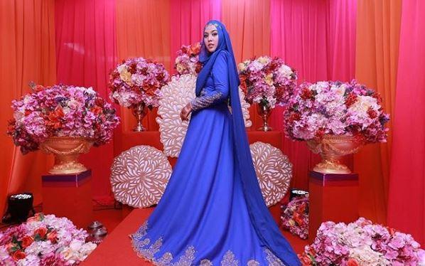 Netizen Puji Gaun Bollywood Shila Amzah Cantik! Ini Perekanya Kalau Korang Pun Teringin