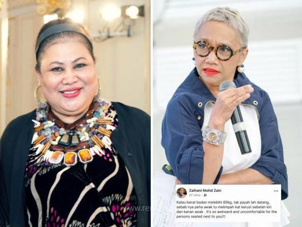 Fesyenista Malaysia Kecam Isu Body Shaming Susulan Status 'Berat 60 kg, Jangan Datang Fashion Show'
