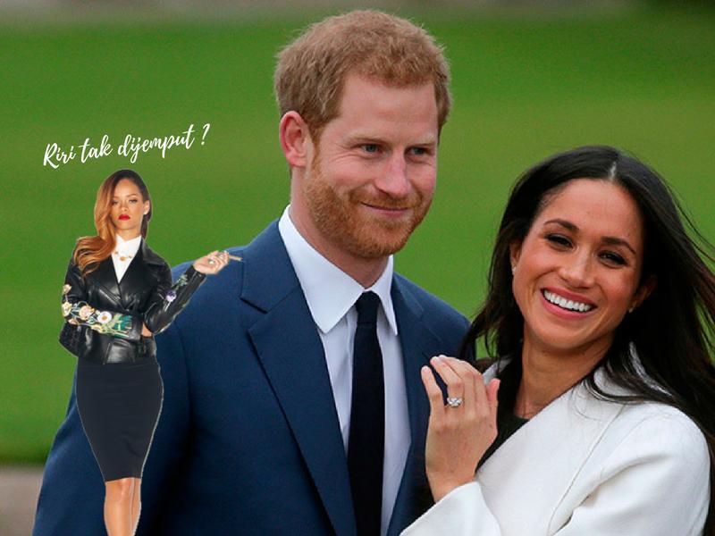 Jika Rihanna Tak Dijemput, Selebriti Mana Je Yang Akan Hadiri Perkahwinan Diraja Putera Harry?
