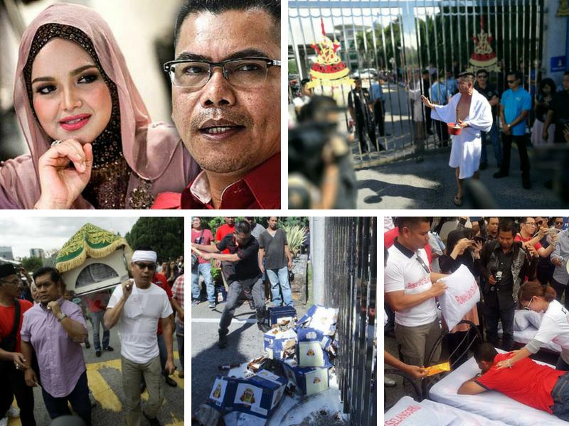 """Ini 10 Gimik  """"MEMALUKAN"""" Jamal Yunos Pernah Lakukan Sebagai Pemimpin UMNO"""