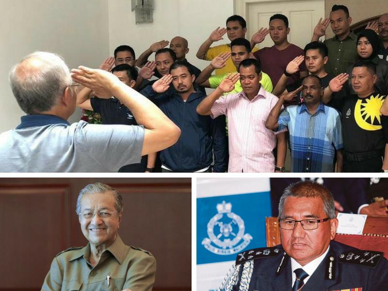 Tun M BERI JAWAPAN Kenapa Pengawal Pengiring Najib Ditarik Balik