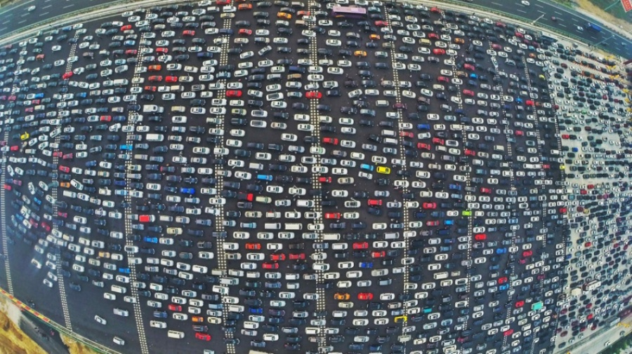 10 Gambar Rush Hour Yang Buat Traffic Jam Di Malaysia Lebih OK