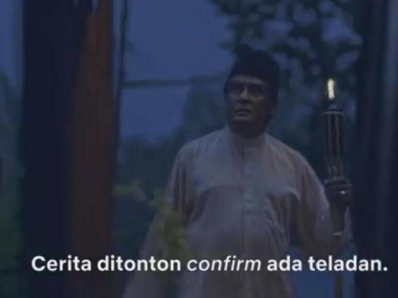 Netizen Cuba Teka Reference Iklan Raya Netflix Lakonan Datuk Jalaludin Hassan