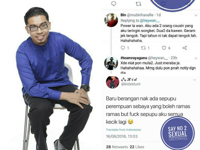 Tweet 'Hubungan Intim Dengan Sepupu Di Hari Raya' Jadi Viral, Cikgu Ulas Isu Jijik Ini