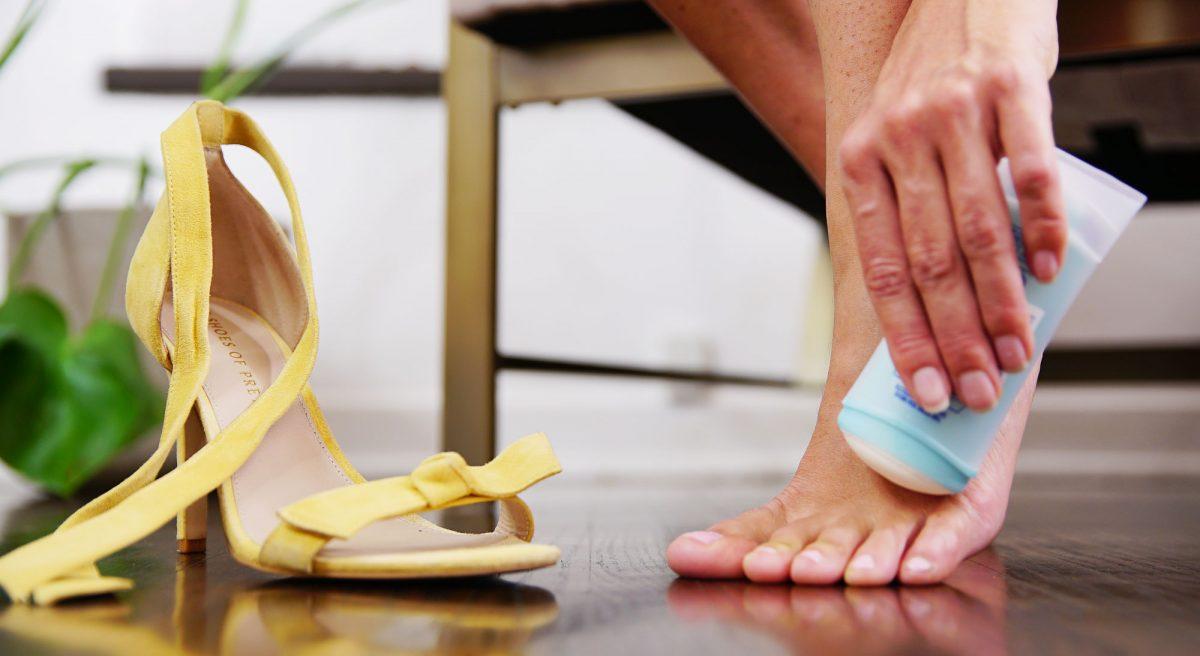 Image result for kasut baru melecet