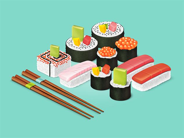 Hhm…Penggemar Sushi, Mungkin Kamu Nak Kurangkan Pengambilannya Lepas Membaca Ini