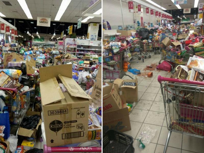 Keadaan Supermarket Ibarat Diserang 'Zombie' Selepas TMJ Belanja Rakyat RM1 Juta