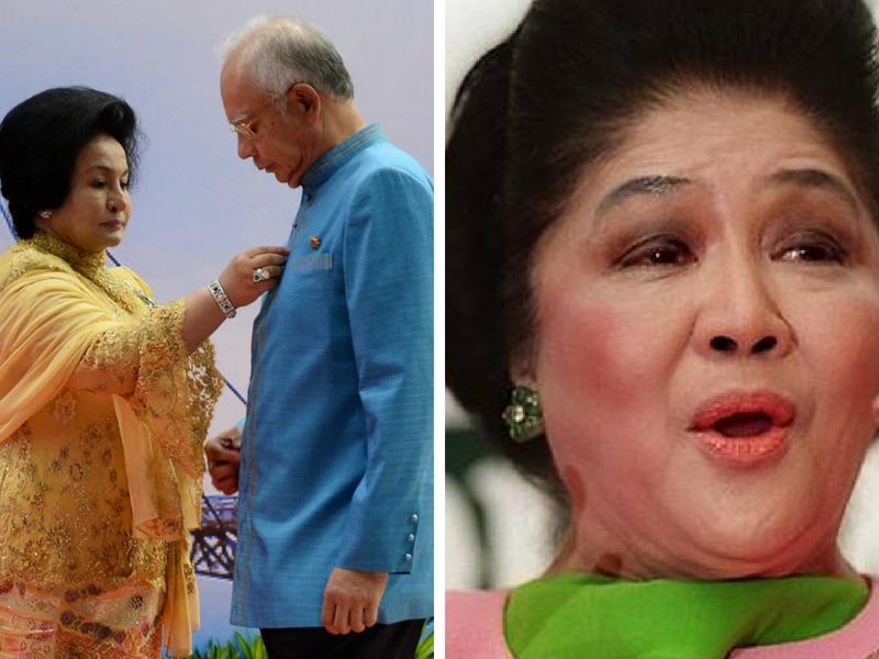 """""""Kenapa Ubah Wikipedia Rosmah?"""", Mungkinkah Sejarah Imelda Marcos Bakal Berulang Di Malaysia?"""