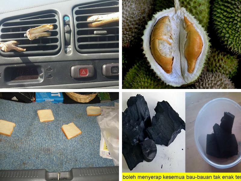6 Cara Paling Rare Hilangkan Bau Durian Pada Kereta, Tak Ada Bau Langsung