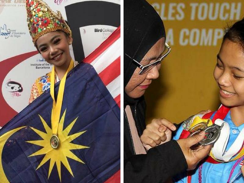 """Pelajar Malaysia Dinobat Pemenang """"Most Outstanding Solo National"""" Di Pertandingan Tarian Piala Dunia"""