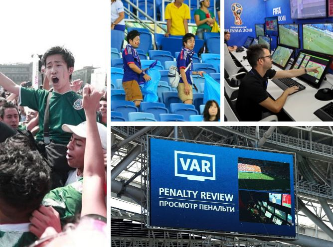 6 Kejadian Paling Menarik Berlaku Di Piala Dunia 2018 Setakat Ini