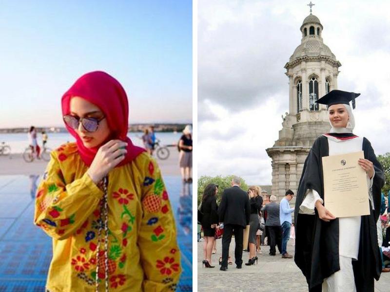 Congrats! Adik Fatiya Latiff Kini Bergelar Doktor Di Usia 25 Tahun