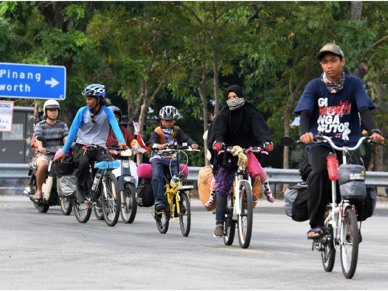 Dari Jakarta ke Mekah, 5 Beranak Kini Tiba di Kedah Sebelum Teruskan Perjalanan