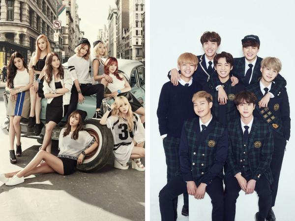 BTS & Girls' Generation Antara Artis K-pop Tersenarai Dalam Carta Muzik Video Terbaik Abad Ke-21
