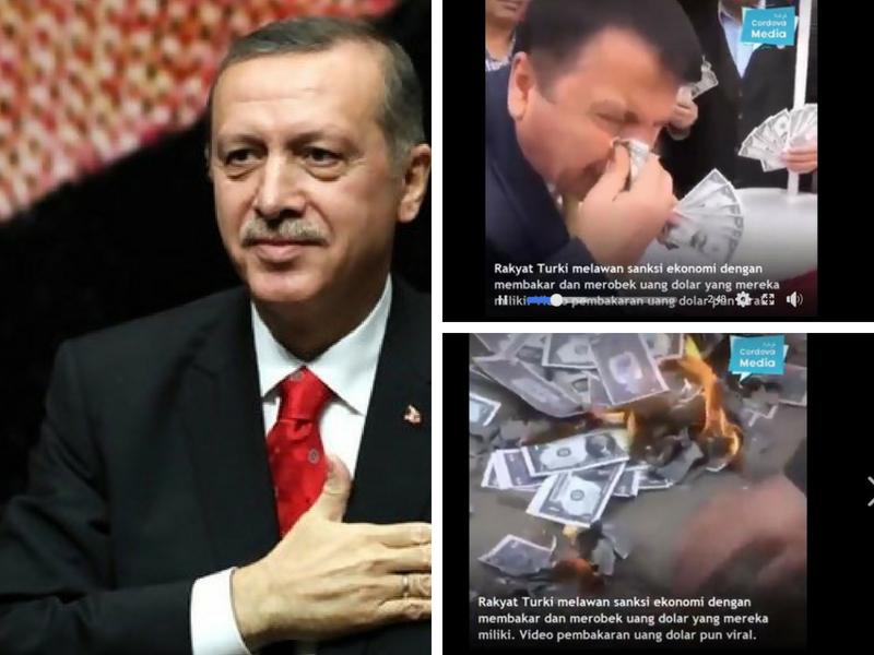 Gara-Gara Enggan Pulangkan Seorang Perisik, Ini Sebab Kenapa Amerika Jahanamkan Ekonomi Turki