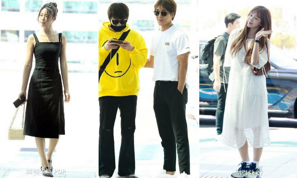 Lihat Stail 'Airport Fashion' Kumpulan FT Island, AOA, EXID & Boyfriend Di KLIA