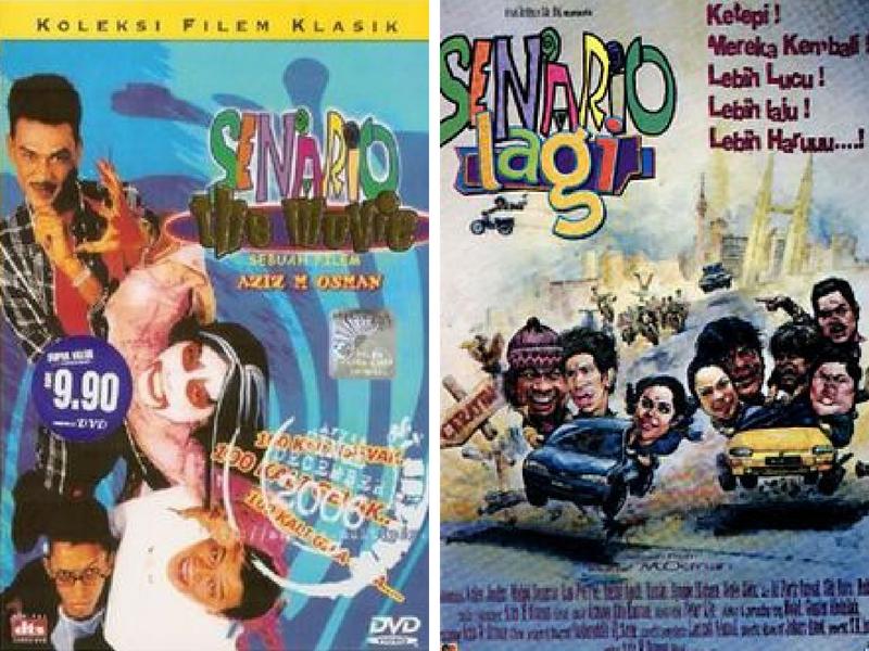 5 Filem Senario Arahan Aziz M.Osman & Mamat Khalid, Mana Paling Legend?