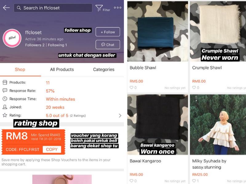 Kemudahan membeli-belah secara online sangat memudahkan kehidupan seharian  kita 8482a640ff