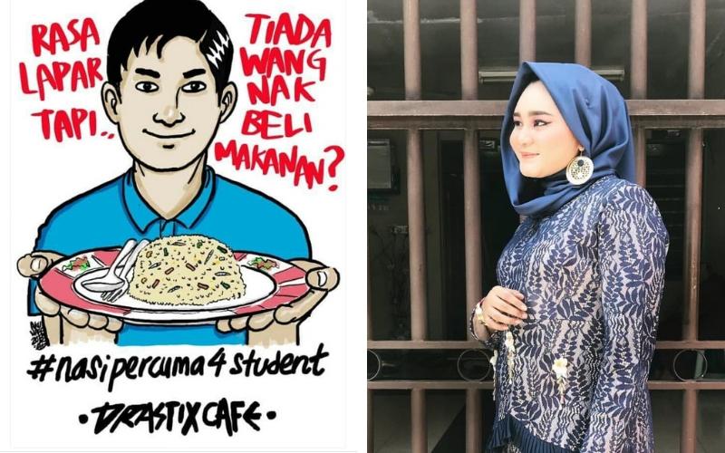 Pemilik Cafe Niat Mahu Sedekah & Tolong Student Dari Terus Makan Mi Segera