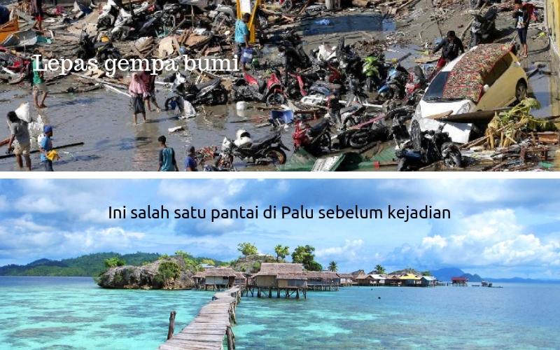 Petanda Aneh Air Laut Surut Sebelum Tsunami Satu Kampung Lenyap